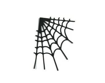 Spider Web Die Cut Set of 24