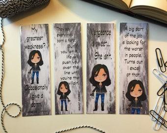 Bookmarks - Jessica Jones Bookmarks