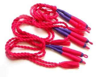 cotton thread tassel dori indian handmade
