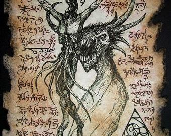 NIGHTMARE cthulhu larp necronomicon magick occult horror