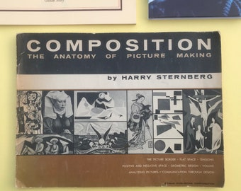 Vintage Composition, the anatomy of picture making. Vintage art reference book. 1958.