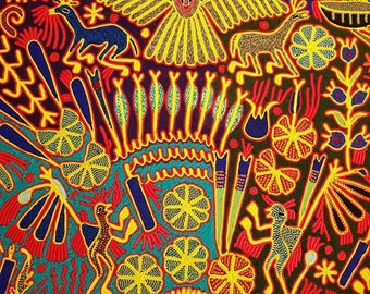 decorative picture huichol