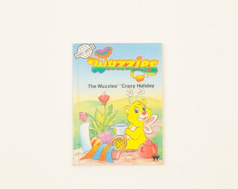 The Wuzzles' Crazy Holiday - Wuzzles Vintage Story Book 1986
