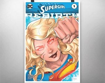 Supergirl #1 (Rebirth) - Poster Art Print