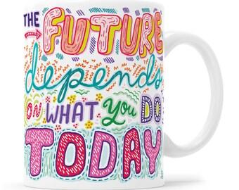 Motivational Mug, Inspirational Mug, Law Of Attraction, Positive Energy, Good Vibe Tribe, Best Mug, Cute Mug, Awesome Mug, Positivity