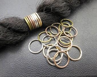 30Pcs DIY dreadlock Beads dread hair braid Accessories