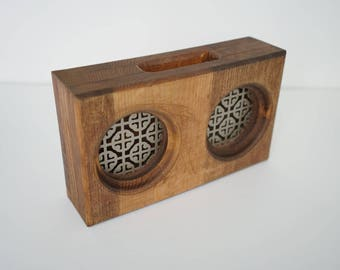 Wooden Smartphone Amplifier / Passive Speaker - Chestnut