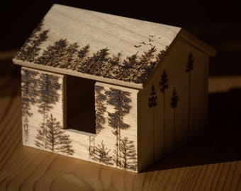 Forest Wooden Box