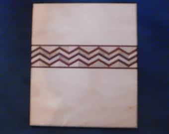 cutting board,chopping block,kitchen,art,southwestern,maple,paduak,purple heart,gift