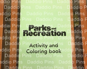 Parks and Recreation Coloring and Activity Book