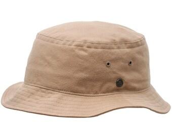 GOLF - Bucket Fishing Golf Cotton Hat - beige