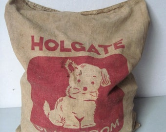 Vintage Bag of Wooden building Blocks vintage blocks Holgate blocks