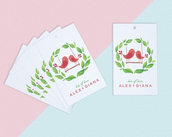 Set of 60 Gift Tags