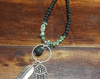 Lavastone Essential Oils necklace