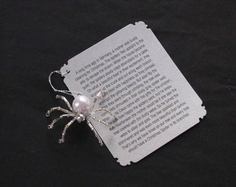 Christmas Spider Ornaments (Silver)