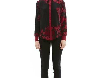 Edgy Floral Andro Shirt