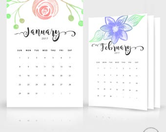 free wall calendars 2018