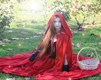 Little red riding hood costume medieval dress medieval cape elven costume elven cape medieval costume elf costume medieval cloak  sc 1 st  Etsy & Medieval Dress Blue Elven costume elf dark blue velvet and