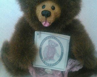 Kimbearly's Originals Bear by A&A Plush