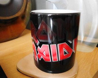 Classic Iron Maiden Colour Change Mug