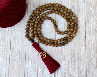108 Mala Tassel Necklace, Women's Jewelry 108 Mala Bead, Mala Necklace, Mens Jewelry Yoga Beads,Meditation Buddhist Prayer Beads