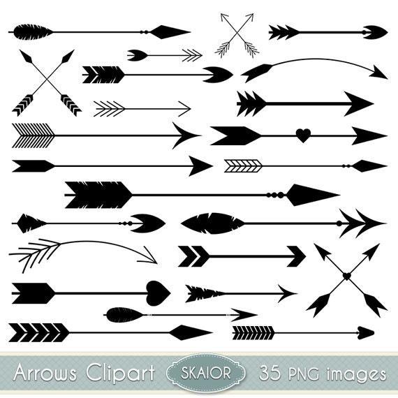 arrows clipart vector arrows clip art tribal digital arrows rh etsy com arrow clipart no background arrow clip art png