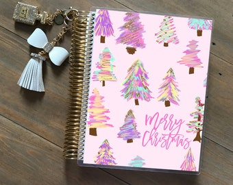 Original Stylish Planner™ Cover Set - Pink Christmas: For use with Erin Condren Life Planner(TM), Happy Planner and Recollections Planner