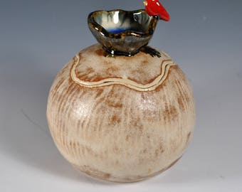 Handmade Pottery Urn, Cremation Urn, Pet Urn, Memory box, Keepsake Box