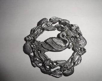 Jahrgang Christbaumschmuck 4 Zoll von 4 Zoll Schwan-Ornamente-Ornament-Ornament-Baumschmuck--