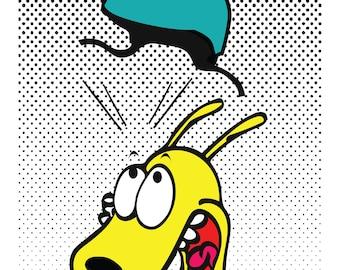 Roller Derby Rocko - Print 8.5x11