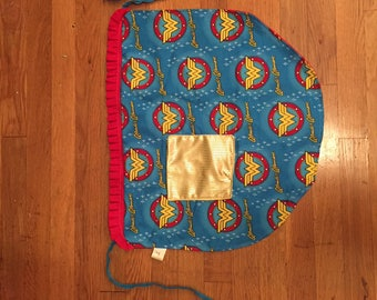 Wonder Woman Half Apron