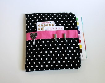 Planner Pouch, Planner Accessory, Planner Bag for use with Happy Planner Cover, Erin Condren™, Inkwell Press Planner, Passion Planner