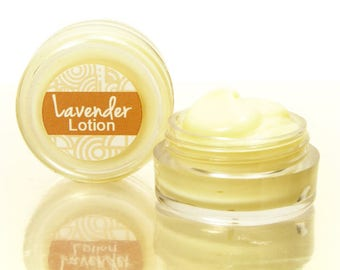 Body Lotion, Sample,  with lavender, Hand and Body Lotion, Dry Skin Lotion For Elbows and Heels, Rich Moisturizer that Keeps Your Skin Soft.