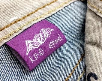300 woven labels, hem tags, hem labels, Custom clothing labels, cheap clothing label, Woven label for clothing, custom woven labels