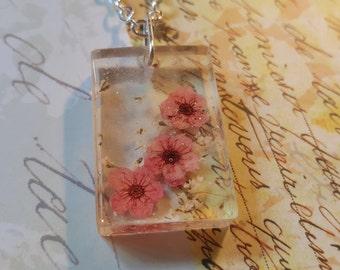 Cute Cherry Blossom Necklace