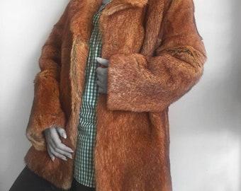 Vintage fur coat. Vintage fur. Vintage coat