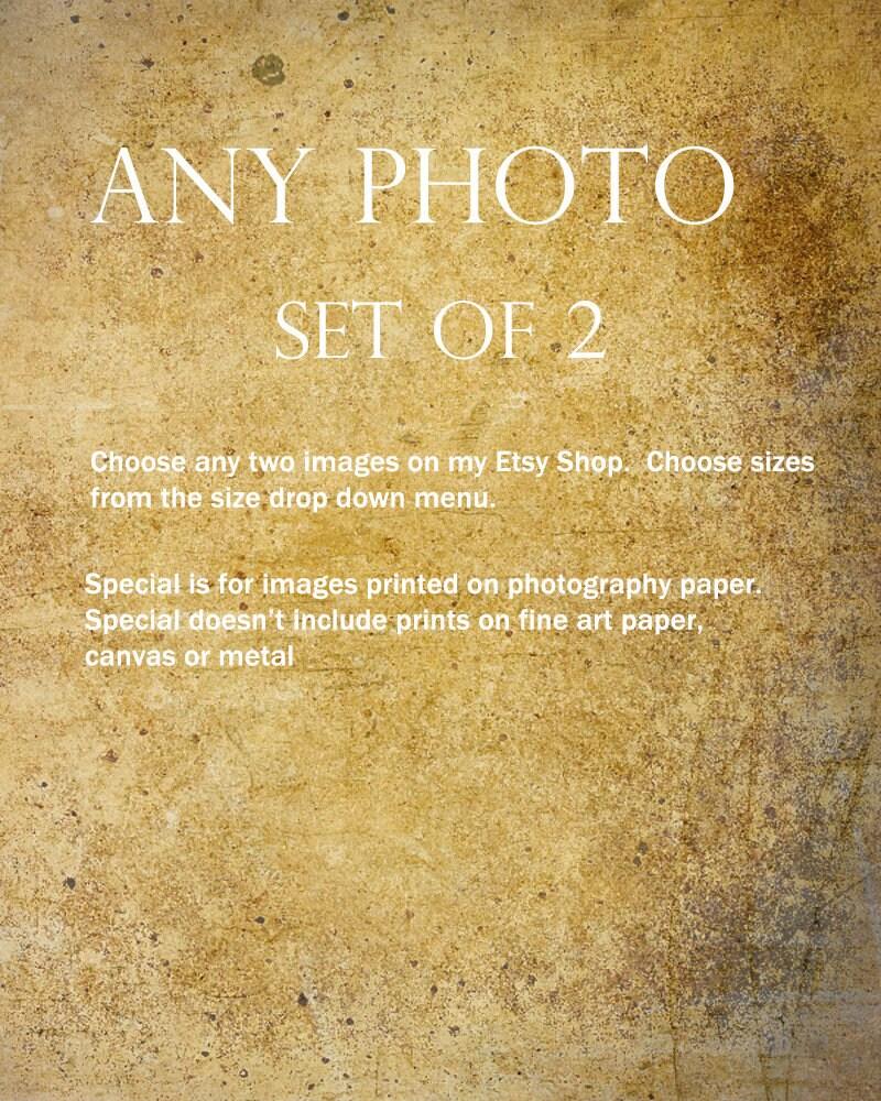 Print set sale set of 2 8 x 10 11 x 14 16 x 20 photo sets of
