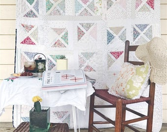 Falling Slowly Quilt Pattern, EASY