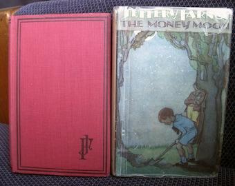 The Money Moon, Jeffery Farnol, Hardback Dust Jacket, Vintage Fiction Book, Circa 1920's