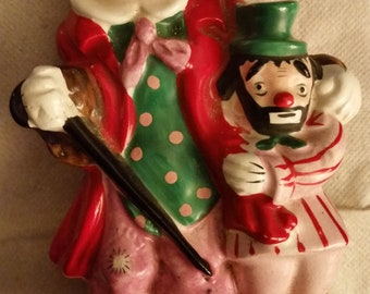 Yona Original Vintage 1956 Clown Figurine Decorative Clown Buddy Collectible