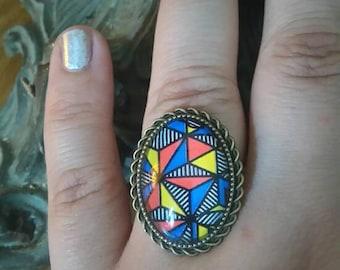 ring bronze year 80