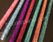Glitter Taper Candles for...