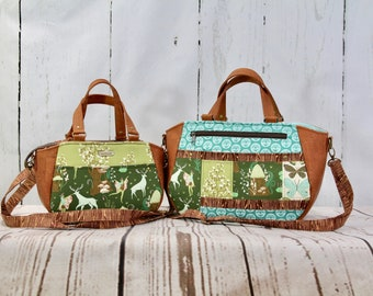 Daffodil Tote in 2 sizes - PDF Sewing Pattern