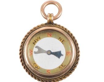 Antique Compass Charm/Pendant
