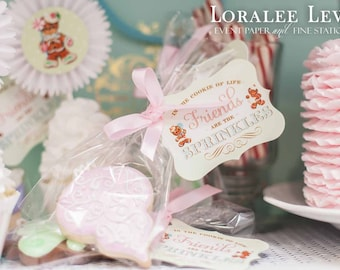 Sweet Holiday Favor Tags by Loralee Lewis