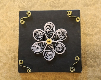 Quilled White Daisy