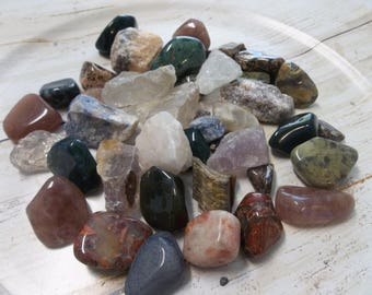 Healing Crystal and Stones, Crystal Healing, Tumbled Gemstones, Raw Gemstones, Energy Crystals, Reiki Stones, Meditation Crystals