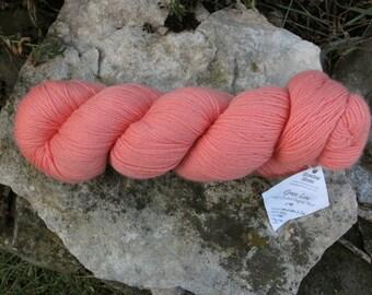 Melon 3/8 Fine Merino Organic Wool Yarn Green Line