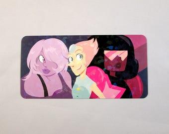 Crystal Gems Holographic Bookmark (Stephen Universe)