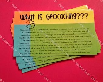 Geocaching Muggle Cards - Swag